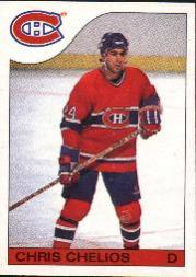 1985-86 O-Pee-Chee #51 Chris Chelios