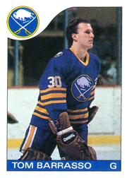 1985-86 O-Pee-Chee #105 Tom Barrasso