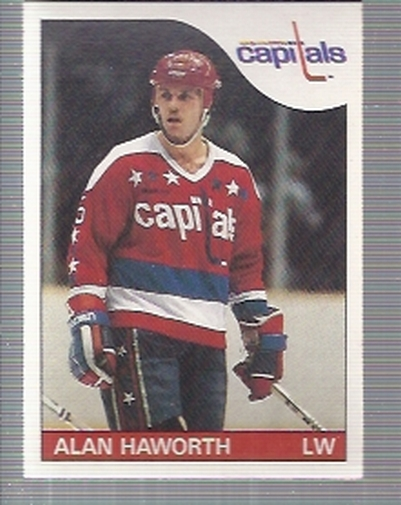 1985-86 O-Pee-Chee #117 Alan Haworth