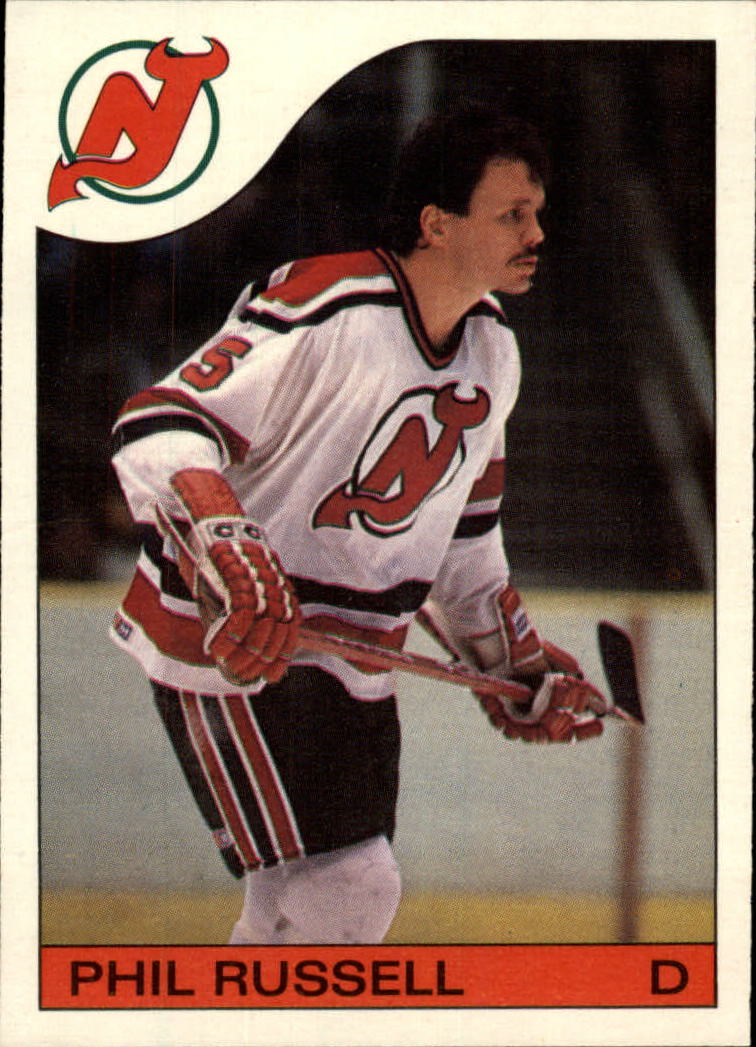 1985-86 Topps #30 Phil Russell