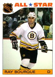 1985-86 Topps Sticker Inserts #5 Ray Bourque