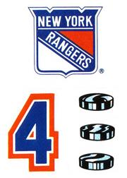 1985-86 Topps Sticker Inserts #17 New York Rangers