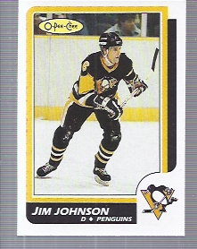 1986-87 O-Pee-Chee #231 Jim Johnson RC