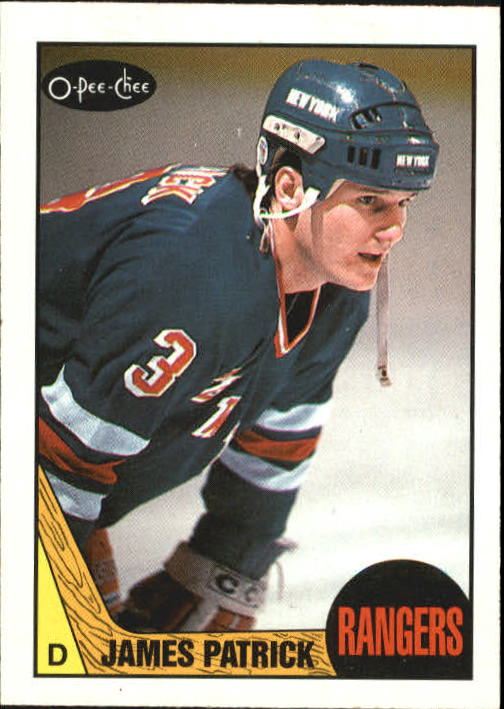 1987-88 O-Pee-Chee #18 James Patrick