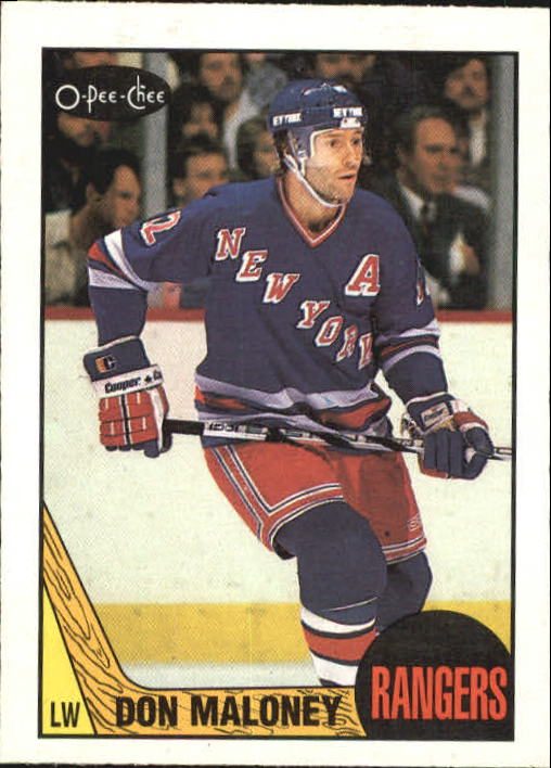 1987-88 O-Pee-Chee #49 Don Maloney