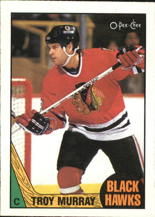 1987-88 O-Pee-Chee #74 Troy Murray