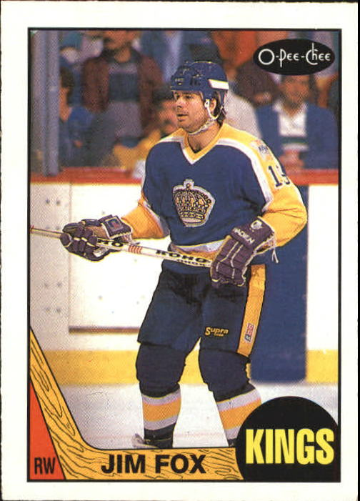 1987-88 O-Pee-Chee #75 Jim Fox