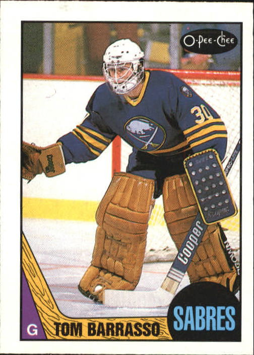 1987-88 O-Pee-Chee #78 Tom Barrasso