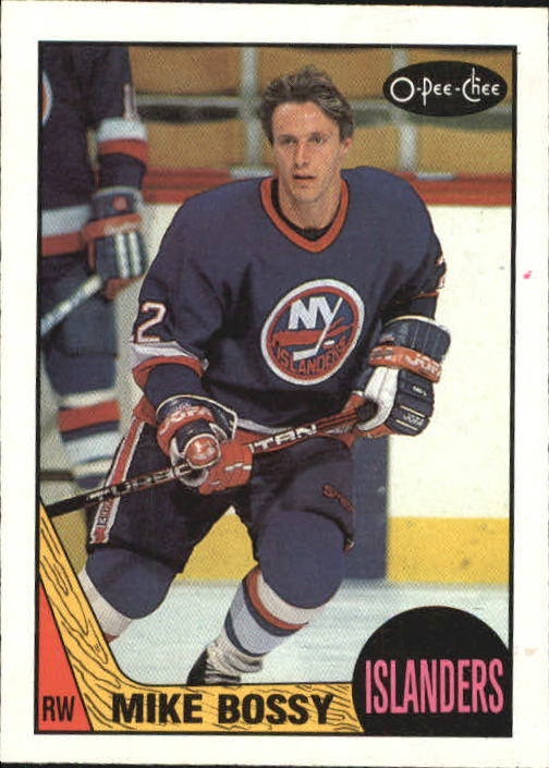 1987-88 O-Pee-Chee #105 Mike Bossy