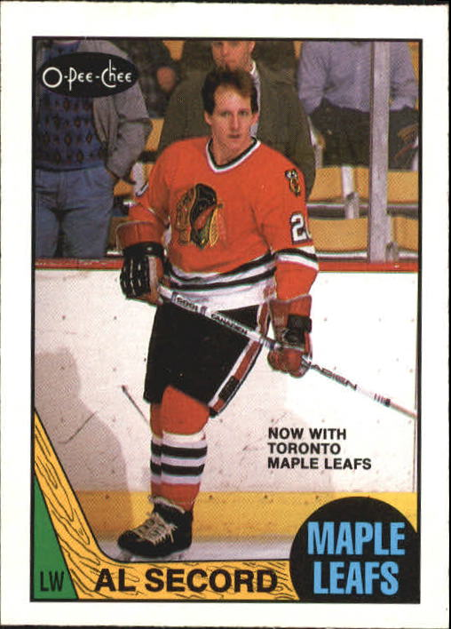 1987-88 O-Pee-Chee #111 Al Secord