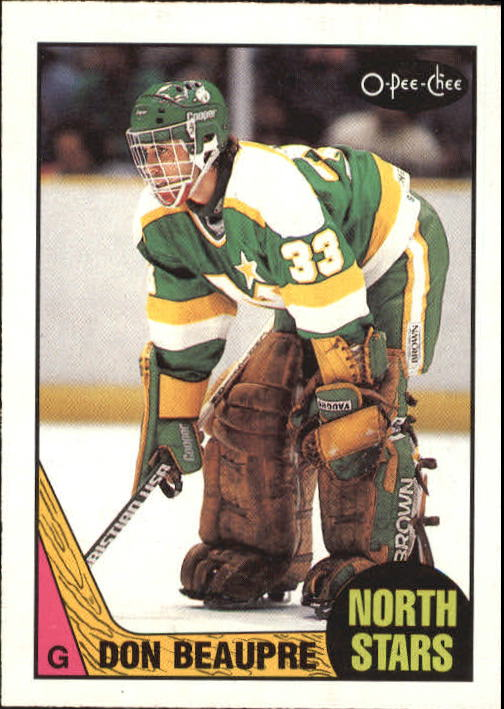1987-88 O-Pee-Chee #132 Don Beaupre