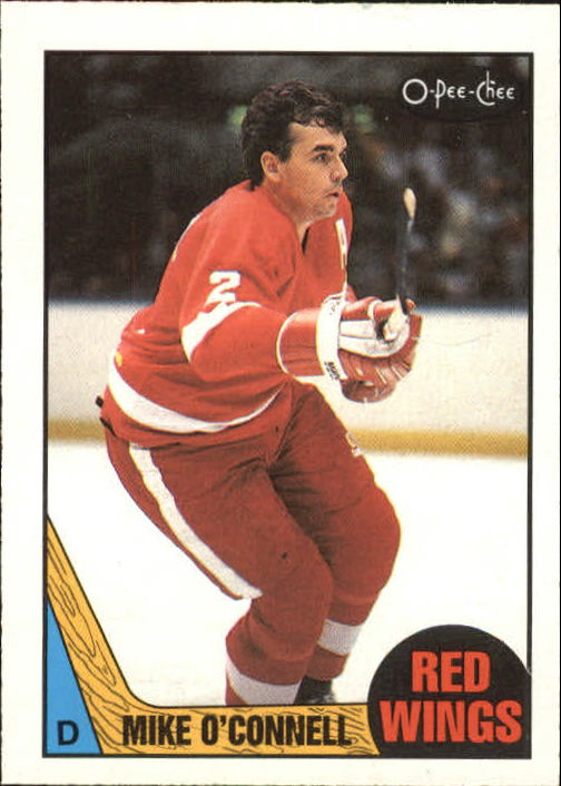 1987-88 O-Pee-Chee #141 Mike O'Connell