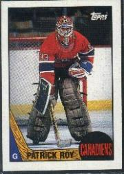 1987-88 Topps #163 Patrick Roy