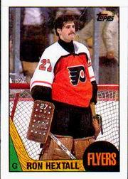 1987-88 Topps #169 Ron Hextall RC