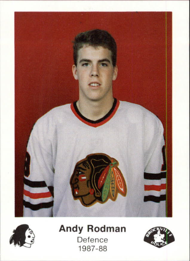 1987-88 Brockville Braves #24 Andy Rodman