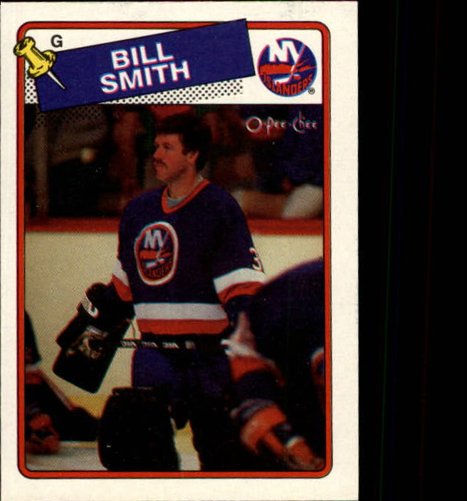 1988-89 O-Pee-Chee #17 Billy Smith