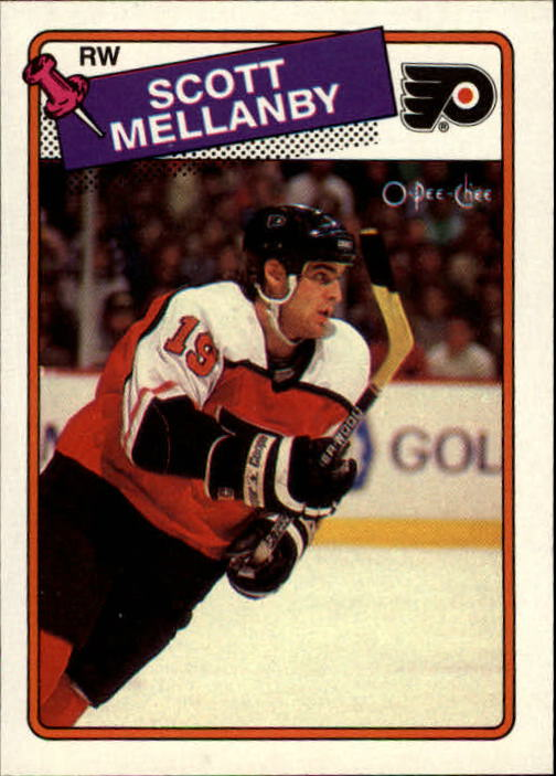 1988-89 O-Pee-Chee #21 Scott Mellanby RC