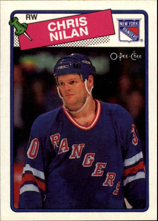 1988-89 O-Pee-Chee #31 Chris Nilan
