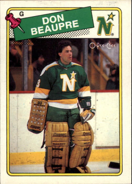 1988-89 O-Pee-Chee #42 Don Beaupre