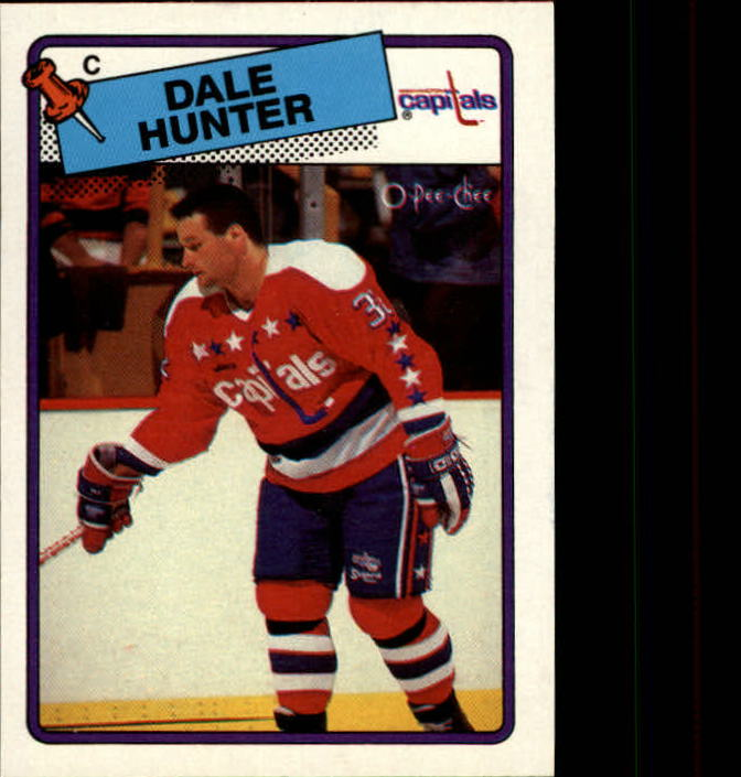 1988-89 O-Pee-Chee #70 Dale Hunter