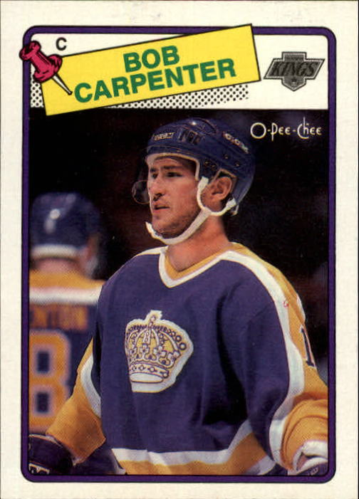 1988-89 O-Pee-Chee #72 Bob Carpenter