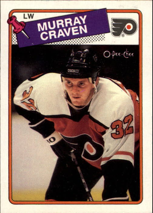 1988-89 O-Pee-Chee #79 Murray Craven
