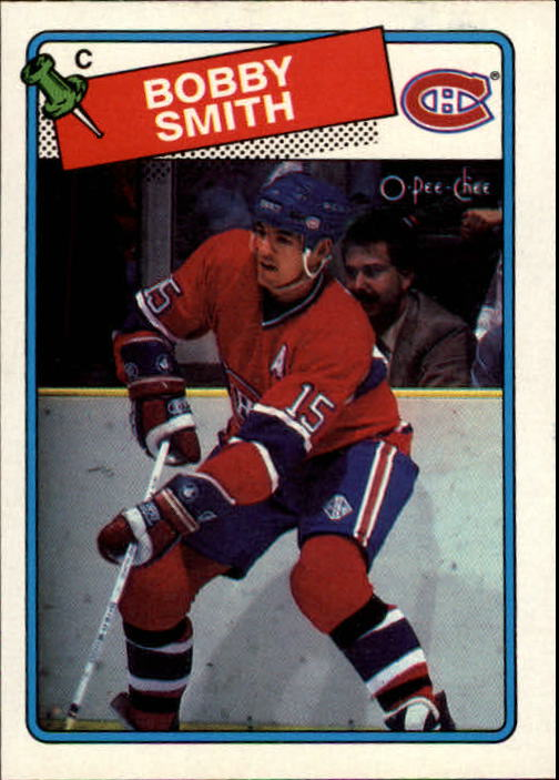 1988-89 O-Pee-Chee #88 Bobby Smith