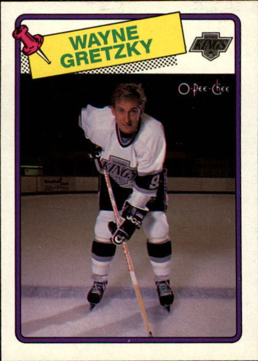 1988-89 O-Pee-Chee #120 Wayne Gretzky UER/no position on front