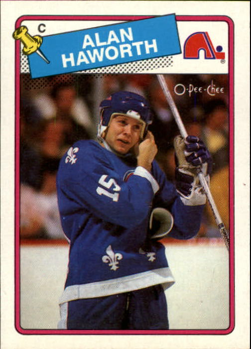 1988-89 O-Pee-Chee #131 Alan Haworth