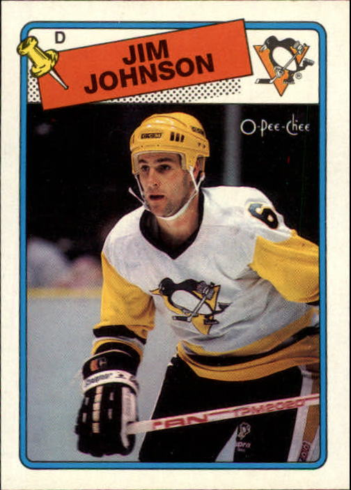 1988-89 O-Pee-Chee #148 Jim Johnson