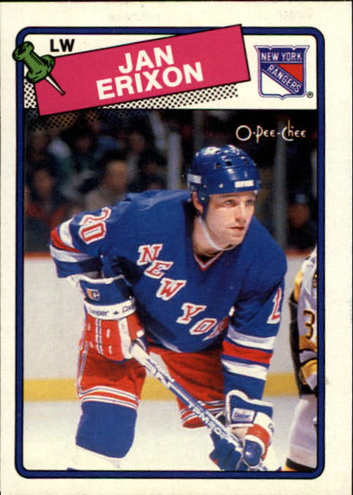 1988-89 O-Pee-Chee #212 Jan Erixon RC