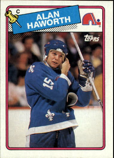 1988-89 Topps #131 Alan Haworth