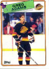 1988-89 Topps #162 Greg Adams DP