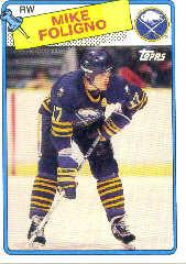 1988-89 Topps #184 Mike Foligno DP