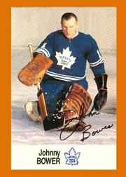 1988-89 Esso All-Stars #4 Johnny Bower