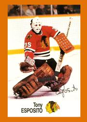 1988-89 Esso All-Stars #11 Tony Esposito