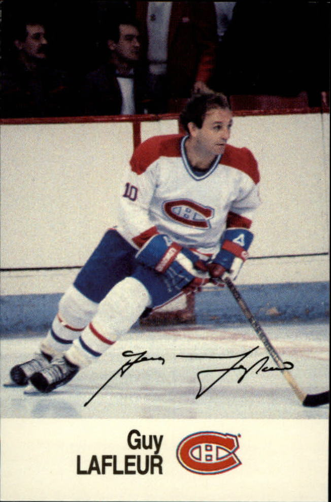 1988-89 Esso All-Stars #23 Guy Lafleur
