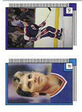1988-89 O-Pee-Chee Stickers #16 Brett Hull/ 145. Jim Kyte