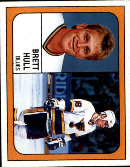 1988-89 Panini Stickers #107 Brett Hull
