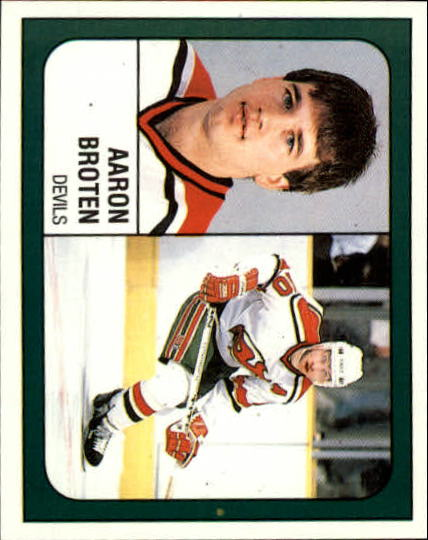 1988-89 Panini Stickers #271 Aaron Broten