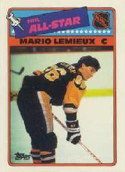 1988-89 Topps Sticker Inserts #2 Mario Lemieux