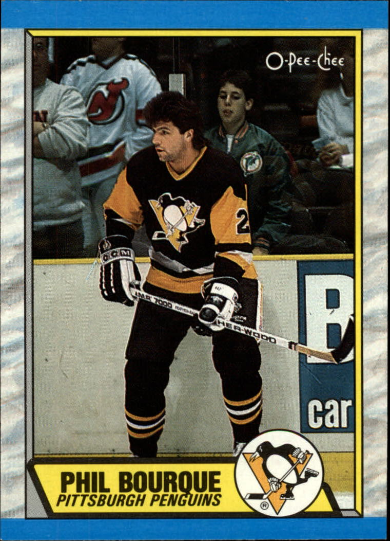 1989-90 O-Pee-Chee #19 Phil Bourque RC