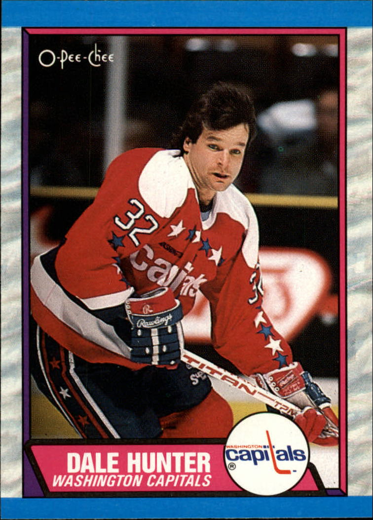 1989-90 O-Pee-Chee #76 Dale Hunter