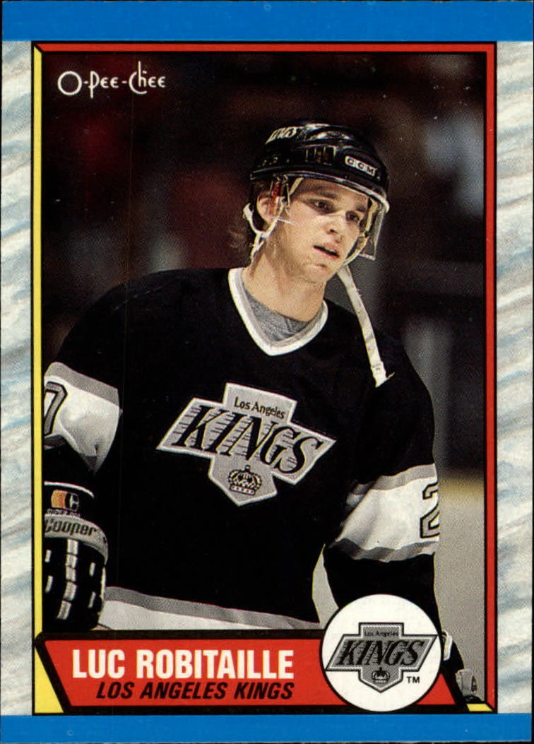 1989-90 O-Pee-Chee #88 Luc Robitaille