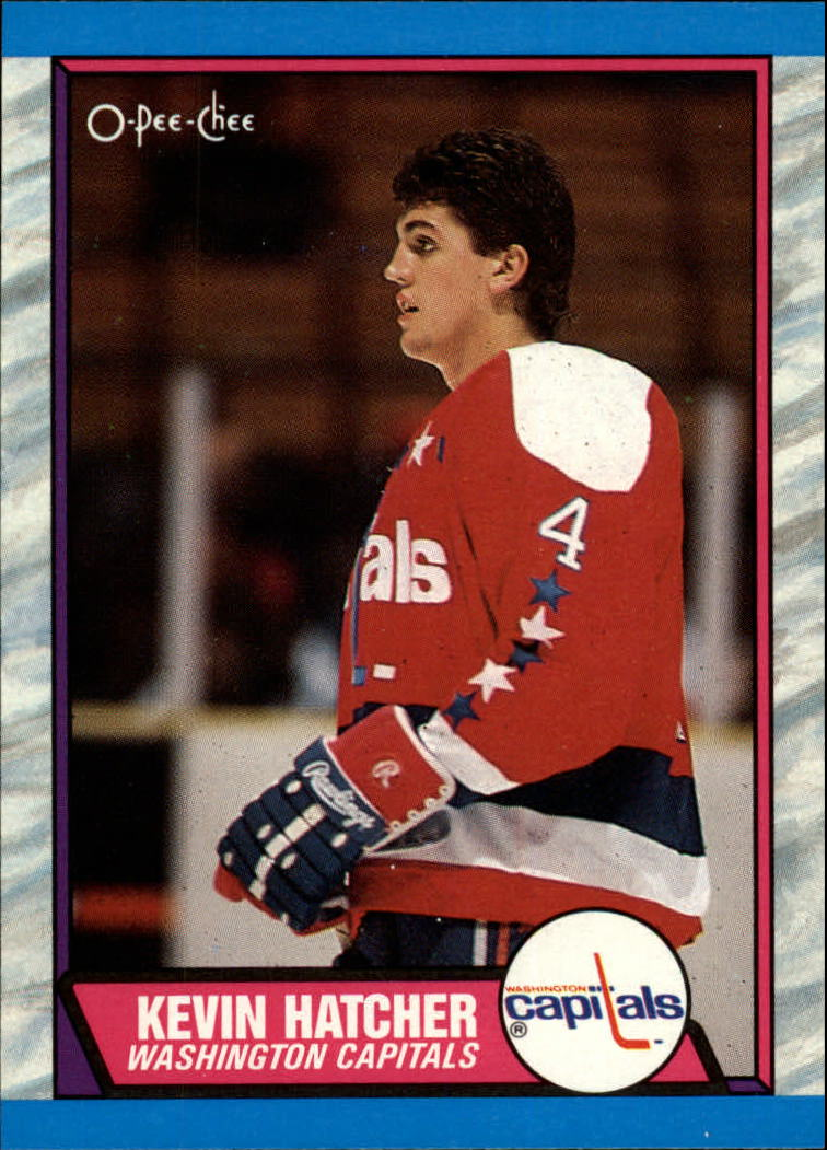 1989-90 O-Pee-Chee #146 Kevin Hatcher