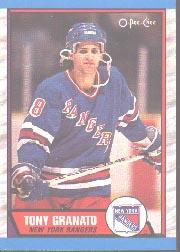 1989-90 O-Pee-Chee #161 Tony Granato RC
