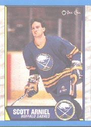 1989-90 O-Pee-Chee #187 Scott Arniel