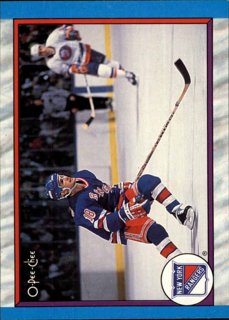 1989-90 O-Pee-Chee #310 New York Rangers
