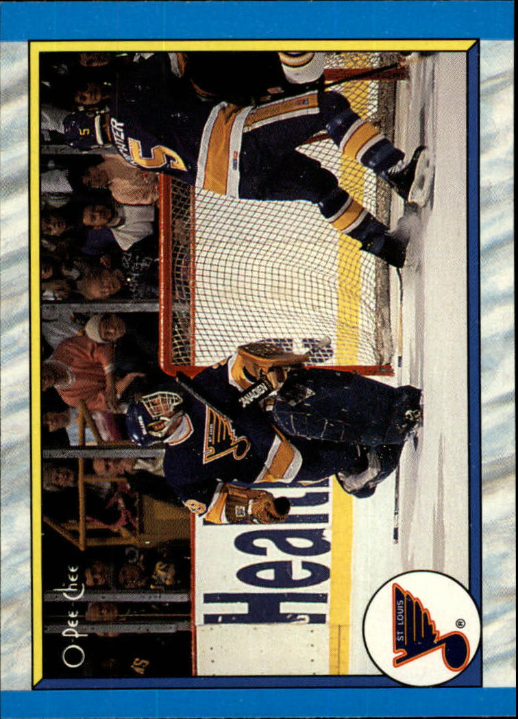 1989-90 O-Pee-Chee #314 St. Louis Blues