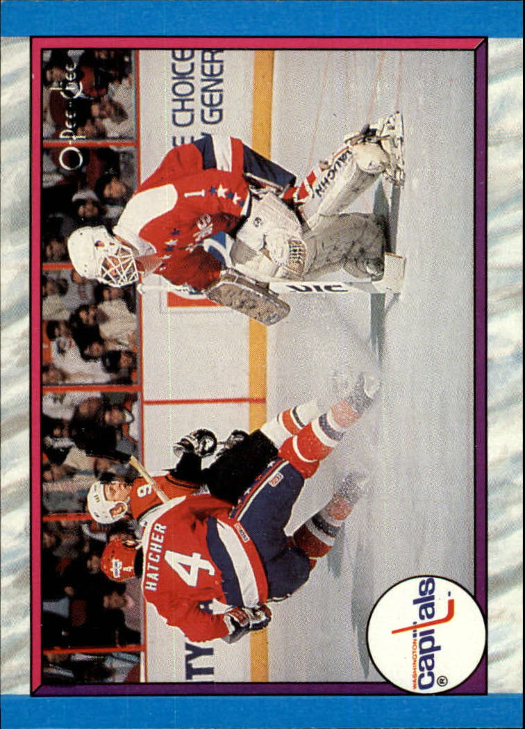 1989-90 O-Pee-Chee #317 Washington Capitals